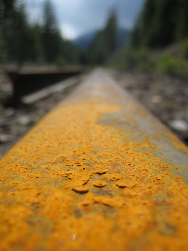 Old man rail track